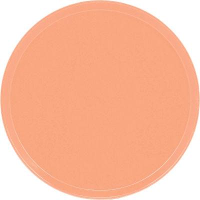"Cambro 1550117 - Camtray 15.5"" Round Low,  Dark Peach - Pkg Qty 12"