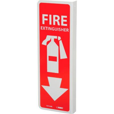Signe de la bride - extincteur de feu