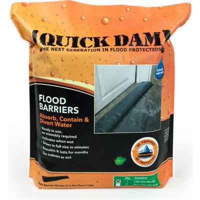 Barrière d'inondation 10' approuvée par le monde - 1 Barrière/Pack QD610-1