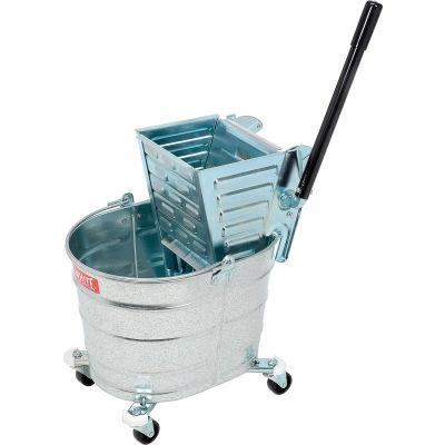 Impact® Metal Squeeze Wringer/26-Qt. Metal Bucket, 2000/260