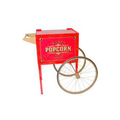 BenchMark USA 30010 Trolly Wheel Cart 4oz, 6oz, 8oz Red