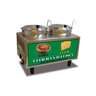 Benchmark USA® 51072, Chili and Cheese Warmer