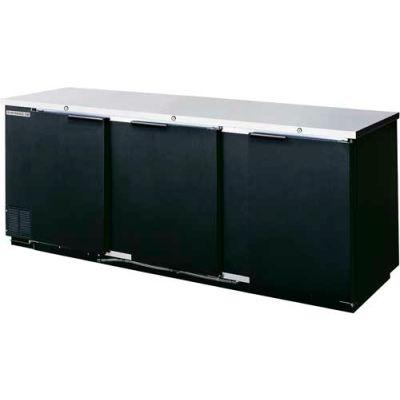 "Solid Door Back Bar Refrigerator 27"" Base BB Series, 95""W - BB94HC-1-B"