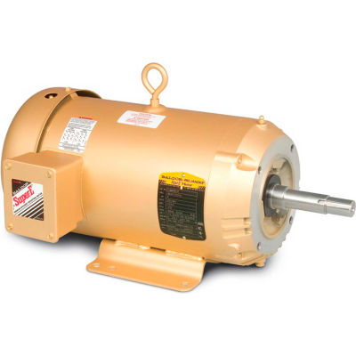 Baldor-Reliance Pump Motor, EJMM3709T-G, 3 Phase, 7.5 HP, 230/460 Volts, 3600 RPM, 60 HZ, TEFC,213JM