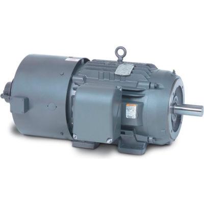 Baldor-Reliance Motor IDNM3661T, 3HP, 1750RPM, 3PH, 60HZ, 184TC, 0634M, TENV, F1