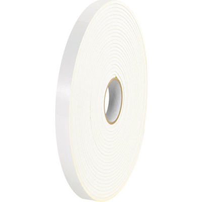 """Double Sided Foam Tape 1"""" x 36 Yds White - 2/PACK"""