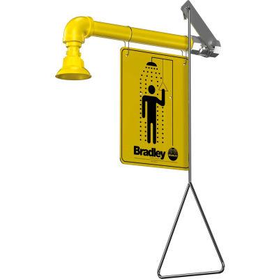 Bradley® Shower, Horizontal Supply, Plastic Showerhead, S19-120