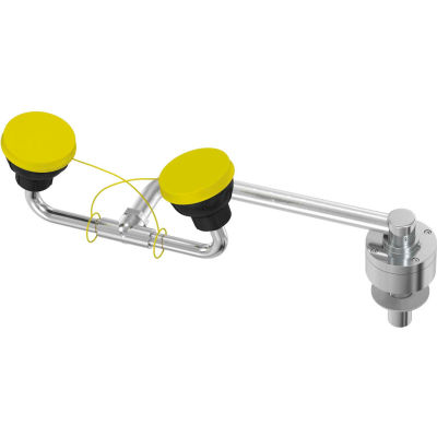 Bradley® Swing Activated Eye/Face Wash Fixture - S19-270E