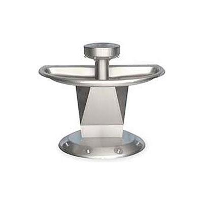 Bradley Corp® Wash Fountain, Semi-Circular, Raising Vent, Series SN2004, 4 Person