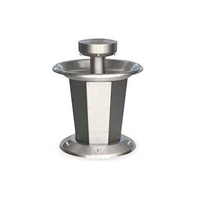 Bradley Corp® Wash Fountain, Circular,Off-line Vent, Series SN2005, 5 Person