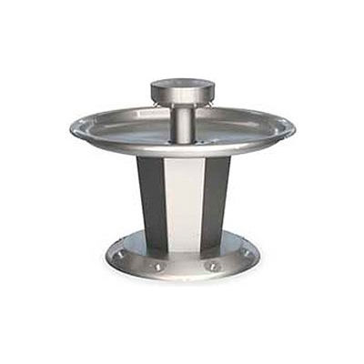 Bradley Corp® Wash Fountain, Circular, Off-line Vent, Series SN2008, 8 Person