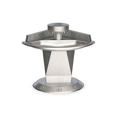 Bradley Corp® Wash Fountain, Corner, Off-line Vent, Series SN2013, 3 Person