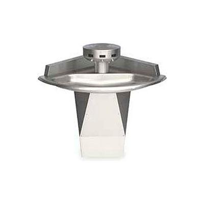 Bradley Corp® Wash Fountain, Corner, 110/24 VAC, Series SN2013, 3 Person
