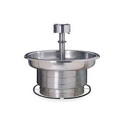 Bradley Corp® Wash Fountain, 36 In Wide, Circular, Series WF2706, 5 Person
