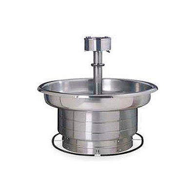 Bradley Corp® Wash Fountain, 54 In Wide, Circular, Series WF2708, 8 Person