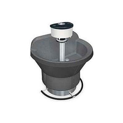Bradley Corp® Wash Fountain, Semi Circular, 36 In Wide, Series WF2803, 3 Person Sink