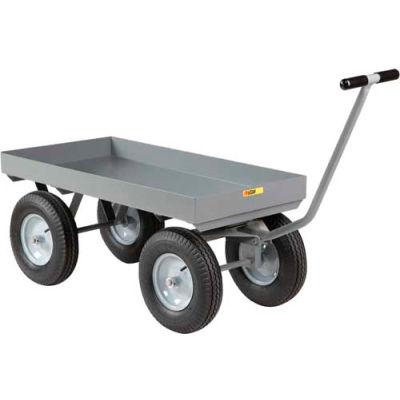 "Little Giant® 3"" Deep Lip Wagon Truck CH-3060-X3-12P - 30 x 60 - 2000 Lb. Cap."