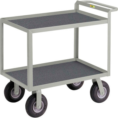"""Little Giant® Instrument Cart with Hand Guard and Non-Slip Vinyl Mat 30"""" x 48"""""""