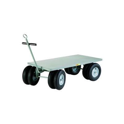 Little Giant® 8-Wheeler Wagon Truck CD-3048-16PFD-CR - Flush Deck - 30 x 48