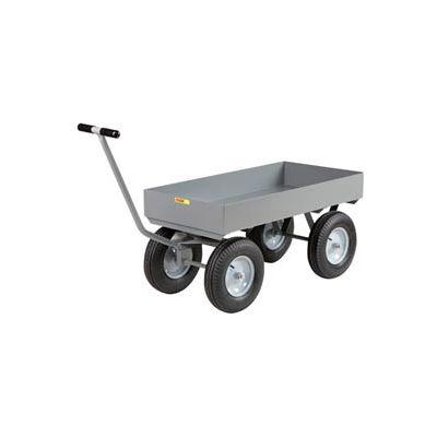 Little Giant® Deep Lip Wagon Truck CH-2448-X6-16P - 24 x 48 - Pneumatic Wheels - 3000 Lb. Cap.