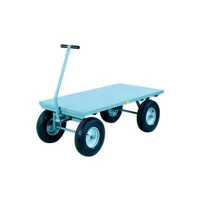 Little Giant® Wagon Truck CH-3048-16PFSD - Flush Deck -30 x 48 - Pneumatic Wheels - 3000 Lb.