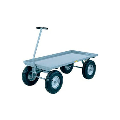 Little Giant® Wagon Truck CH-3672-12P - Lip Deck - 36 x 72 - Pneumatic Wheels - 2000 Lb. Cap.