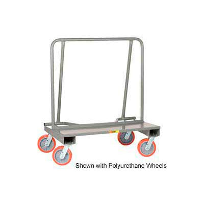 Little Giant® Drywall Cart DC-2444-8MR 8 x 2 Mold-On Rubber Wheels, Assembled
