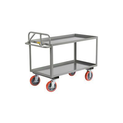 "Little Giant® Shelf Truck, 2 Tray Shelves, 24""Wx36""L, 3600 Lbs. Cap."