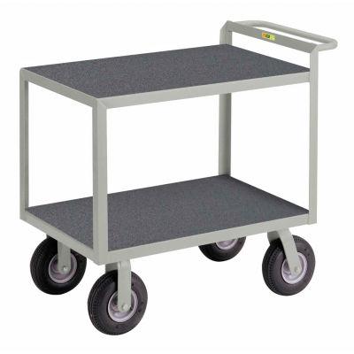Little Giant® Instrument Cart, Hand Guard Flush Non-Slip Vinyl 30x48