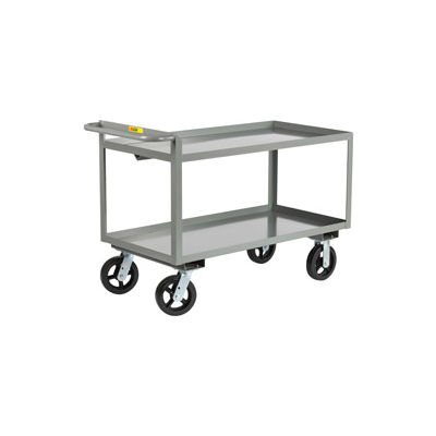 Little Giant® Merchandise Collector GL-3060-8MR, Tray Type 30x60 8x2 Rubber Wheels
