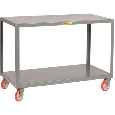 Little Giant® Mobile Table IP-2436-2, 2 Shelf, 24 x 36