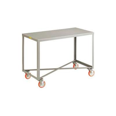 Little Giant® Mobile Table IP-2460RM-BRK, 1 Shelf, 24 x 60