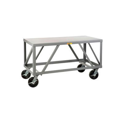 "Little Giant® Extra Heavy Duty Mobile Table, 30""Wx72""L, 5000 Lbs. Cap."