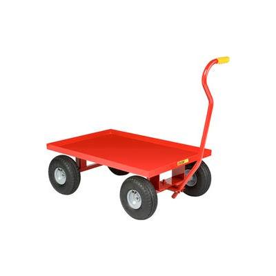Little Giant® Nursery Wagon Truck LW-2436-10P - Steel Deck - 10 x 3.50 Rubber Wheel