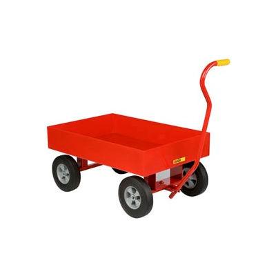 """Little Giant® Nursery Wagon Truck LDW-2436-X6-10 - Steel Deck - 6"""" Sides - 10 x 2.75 Rubber"""