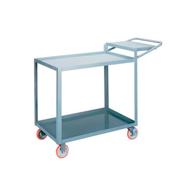 "Little Giant® Order Picking Cart, 2 Tray Shelves,  24""Wx36""L, 1200 Lbs. Cap."