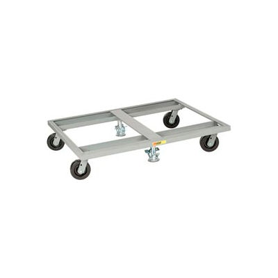 Little Giant® Pallet Dolly PD-4848-6PH-2FL - 48 x 48 - Double Floor Locks