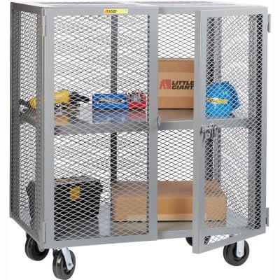 Little Giant® Mobile Storage Locker SCA-3048-6PH Adjustable Shelf 30x48 Phenolic Wheels