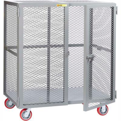 Little Giant® Mobile Storage Locker SCN-3060-6PPY, 30 x 60, Polyurethane Wheels