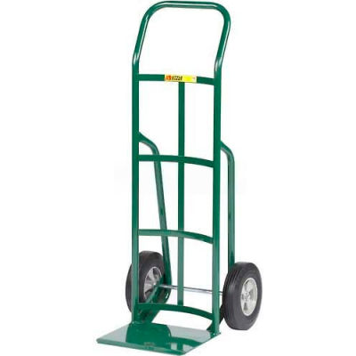 Little Giant® Reinforced Nose Hand Truck T-200-10 - Continuous Handle - 10 x 2.75 Rubber