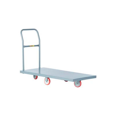 Little Giant® Quick-Turn Platform Truck T-710-DIA-UPS - 24 x 36 - Polyurethane Wheels