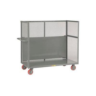 Little Giant® Drop-Shelf Truck T1-2448-6PY-DS, Mesh Sides, 24 x 48
