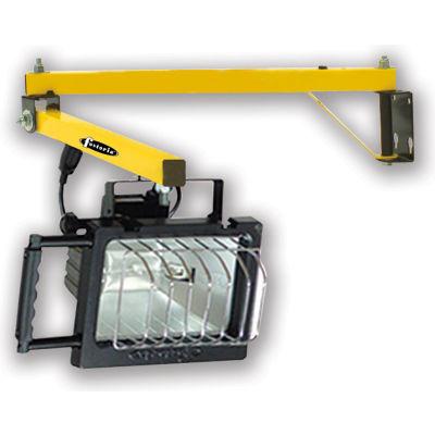 "TPI Premium Dock Light - 60"" Arm Length - Halogen"