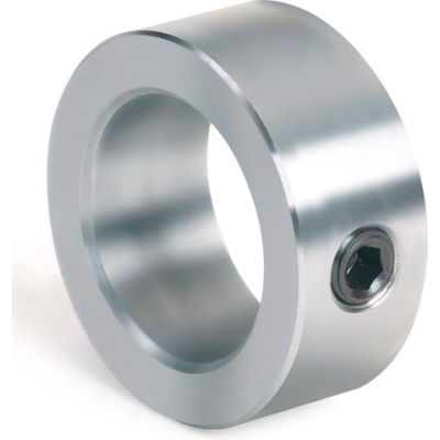 "Set Screw Collar, 1/8"", Unplated Steel"