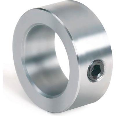 "Set Screw Collar, 9/16"", Unplated Steel"