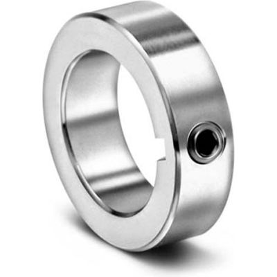 "Set Screw Collar with Keyway C-KW-Series, 1-1/4"", Stainless Steel"