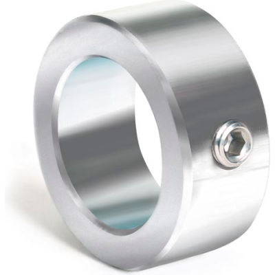 "Set Screw Collar, 1-9/16"", Stainless Steel"