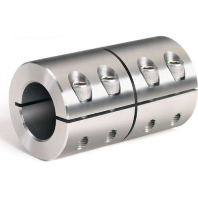 """One-Piece Industry Standard Clamping Couplings, 1-1/4"""", Stainless Steel"""