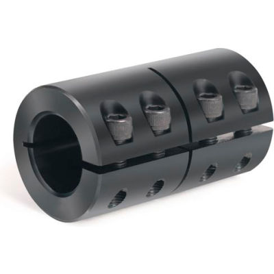 "One-Piece Industry Standard Clamping Couplings, 1-3/8"", Black Oxide Steel"