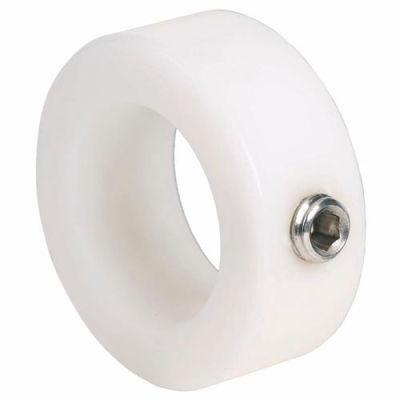 "Nylon Set Screw Collar NC-Series, 3/8"", Acetal"